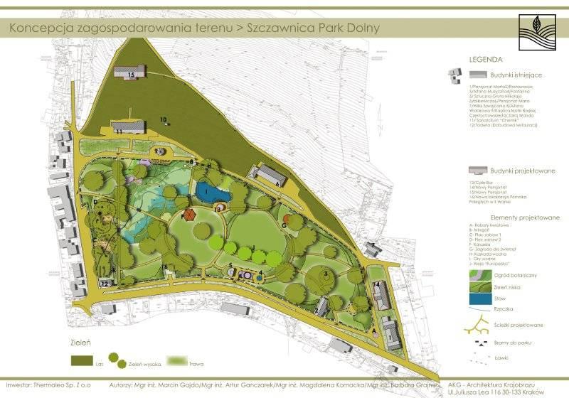Rewitalizacja Parku Dolnego w Szczawnicy