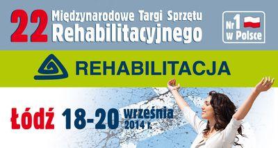 22 Międzynarodowe targi sprzętu rehabilitacyjnego REHABILITACJA