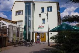 EDEN Sanatorium Uzdrowiskowe<BR> OŚRODEK LECZNICZO-REHABILITACYJNY PZN - SANATORIUM EDEN - wejście główne - sanatoria.org