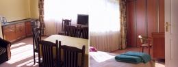 EDEN Sanatorium Uzdrowiskowe<BR> OŚRODEK LECZNICZO-REHABILITACYJNY PZN - Apartament  w SANATORIUM EDEN - sypialnia i pokój gościnny z aneksem kuchennym - sanatoria.org