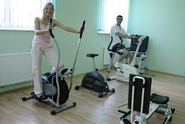 EDEN Sanatorium Uzdrowiskowe<BR> OŚRODEK LECZNICZO-REHABILITACYJNY PZN - Sala fitness w SANATORIUM EDEN - sanatoria.org