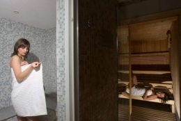 Hotel Kuracyjny*** - Również kompleks saun znajdziemy w Hotelu Kuracyjnym - sanatoria.org