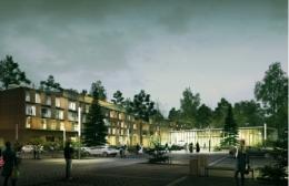 Sanatorium Uzdrowiskowe Augustów - Wizualizacja nowego budynku - sanatoria.org